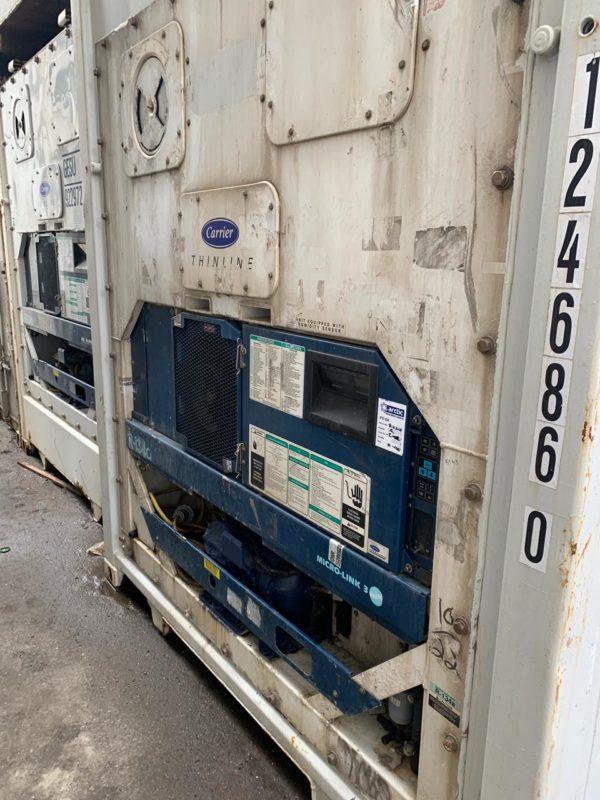 Рефконтейнер 40 футов Carrier 2004 г. RRSU 1246860