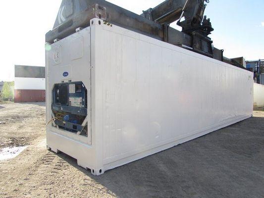 Рефконтейнер 40 футов Carrier 2000 г. (компрессор 2013 г.) GESU 9075052