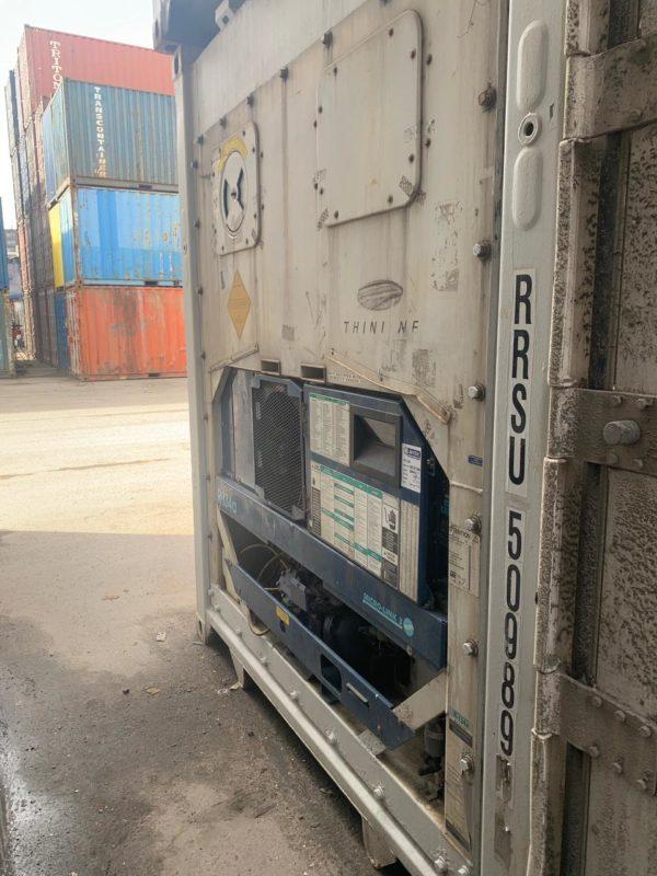 Рефконтейнер 40 футов Carrier 2006 г. SEBU 5098919