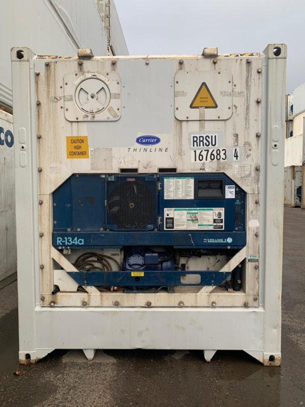 Рефконтейнер 40 футов Carrier 2007г. RRSU 1676834