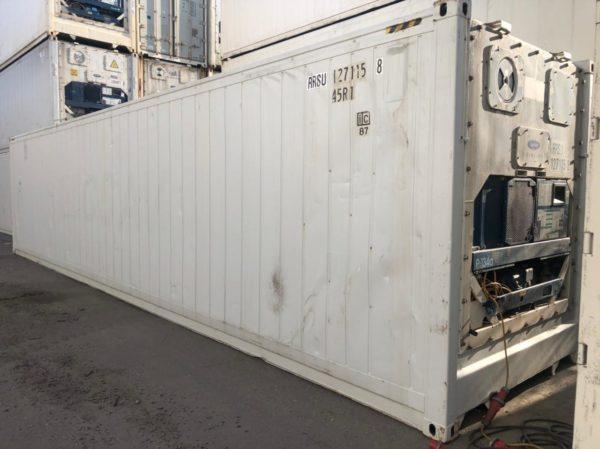 Рефконтейнер 40 футов Carrier 2004 г. RRSU 1271158