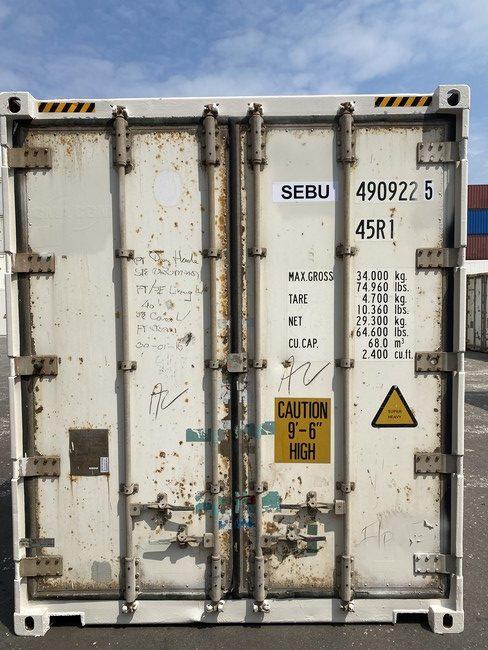 Рефконтейнер 40 футов Carrier 2006 г. SEBU 490922-5