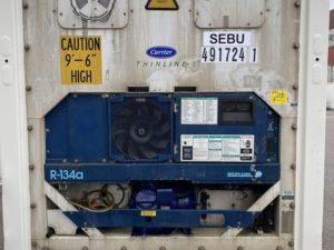 Рефконтейнер 40 футов Carrier 2006 г. SEBU 491724-1