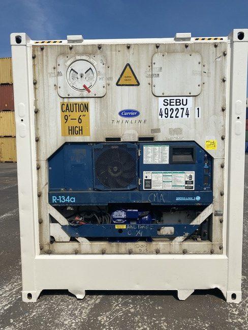 Рефконтейнер 40 футов Carrier 2006 г. SEBU 492274-1