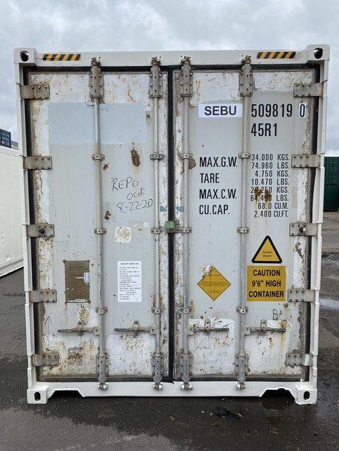Рефконтейнер 40 футов Carrier 2006 г. SEBU 509819-0