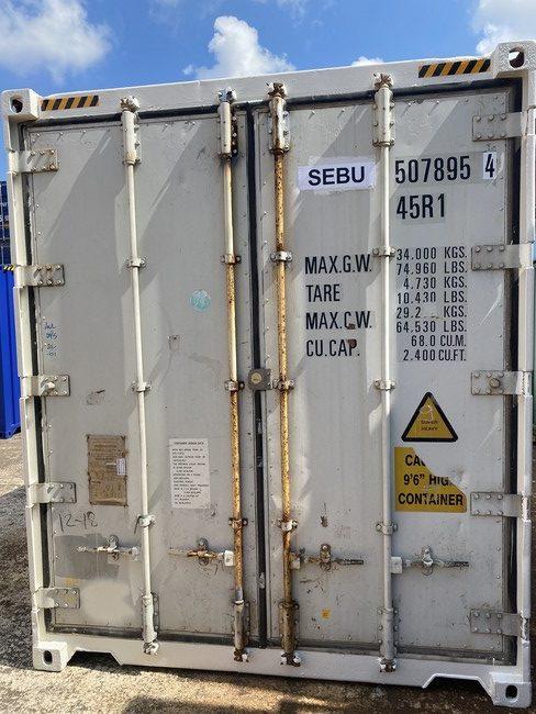 Рефконтейнер 40 футов Carrier 2006 г. SEBU 507895-4