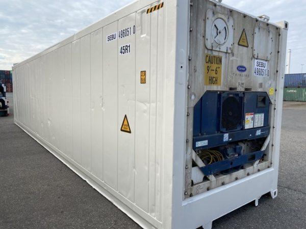Рефконтейнер 40 футов Carrier 2007 г. SEBU 496051-0 (1)