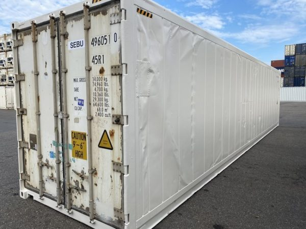 Рефконтейнер 40 футов Carrier 2007 г. SEBU 496051-0