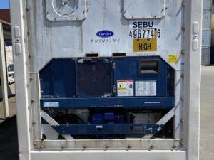 Рефконтейнер 40 футов Carrier 2007 г. SEBU 496774-6