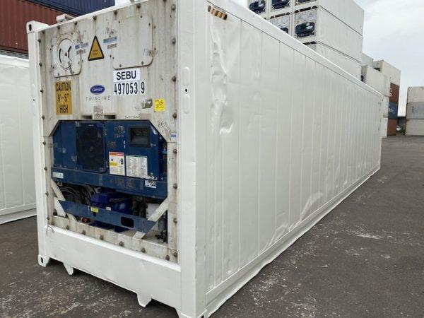 Рефконтейнер 40 футов Carrier 2007 г. SEBU 497053-9