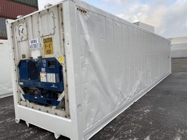 Рефконтейнер 40 футов Carrier 2007 г. SEBU 497987-6
