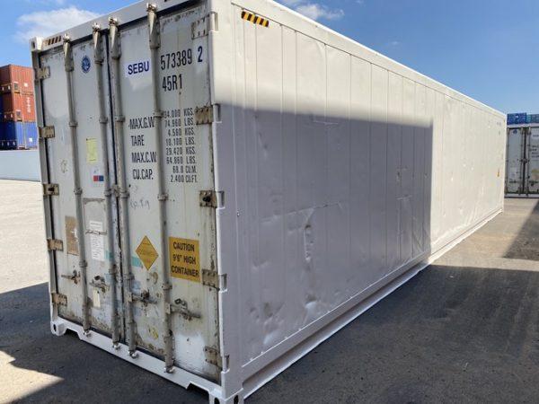 Рефконтейнер 40 футов Carrier 2007 г. SEBU 573389-2