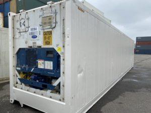 Рефконтейнер 40 футов Carrier 2007 г. SEBU 496811-0