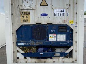 Рефконтейнер 40 футов Carrier 2008 г. SEBU 504248-4