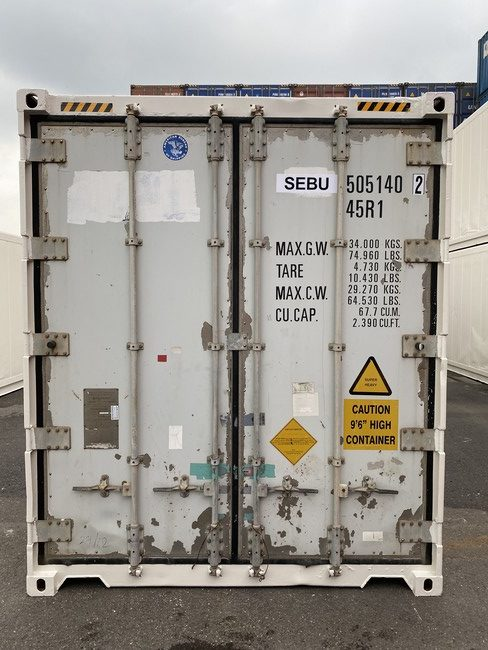 Рефконтейнер 40 футов Carrier 2003 г. SEBU 505140-2