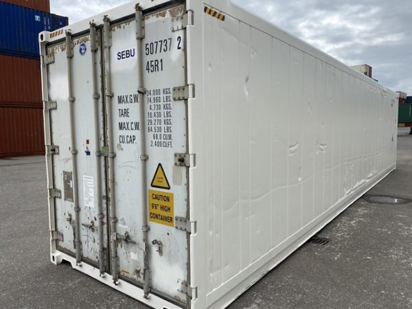 Рефконтейнер 40 футов Carrier 2005 г. SEBU 507737-2