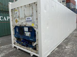 Рефконтейнер 40 футов Carrier 2005 г. SEBU 508006-2