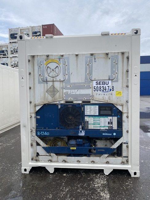 Рефконтейнер 40 футов Carrier 2005 г. SEBU 508347-8