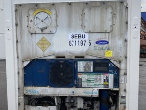 Рефконтейнер 40 футов Carrier 2008 г. SEBU 571197-5