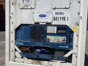 Рефконтейнер 40 футов Carrier 2004 г. SEBU 883119-3